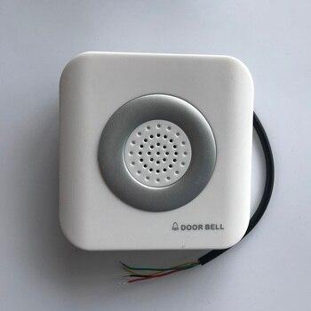 DC 12V  wire Doorbell    dingdong  doorbell ,connect NO and COM Doorbells