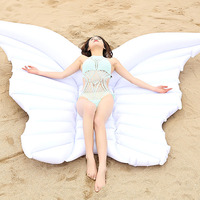 Inflatable butterfly wings swimming ring water angel wings floating wing mounts of angels