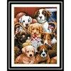 DIY 5D Diamond Painting Dog Animal Diamond Embroidery Cross Stitch 3D Diamond Mosaic Needlework Crafts Christmas