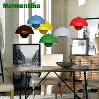 Modern Verner Panton Flowerpot pendant lamp Light UFO chandelier simple child bedroom living room dining light E27 AC110 240V