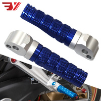 BYSPRINT Motorcycle high quality CNC Foot Rests Foot Pegs Pedals Rear For BMW K1200R K1200S 2005 2008 K1300S/R 2009 2015 7 Color