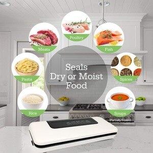 Image 3 - Conditionneur alimentaire domestique, 220 V/110 V, scellé sous vide, emballage sous vide pour Machine, aide à emballer sous vide, sacs en 10 pièces
