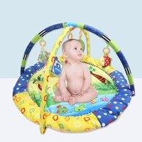 Cartoon Soft Baby Play Mat Game Mat Kids Infant Rug Floor Pad Educational Hanging Toy Carpet Infant Playmat Crawling Blanket