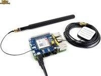 4G/3G/2G/GSM/GPRS/CHAPÉU do GNSS para Raspberry Pi Zero/ W Zero/Zero WH/2B/3B/3B +  com base em SIM7600E-H  apoio dial-up