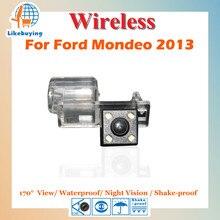 Камеры заднего вида обратный парковка камеры / беспроводной 1/4 цветной CCD для Ford Mondeo 2013 ночного видения / 170 град. / водонепроницаемый