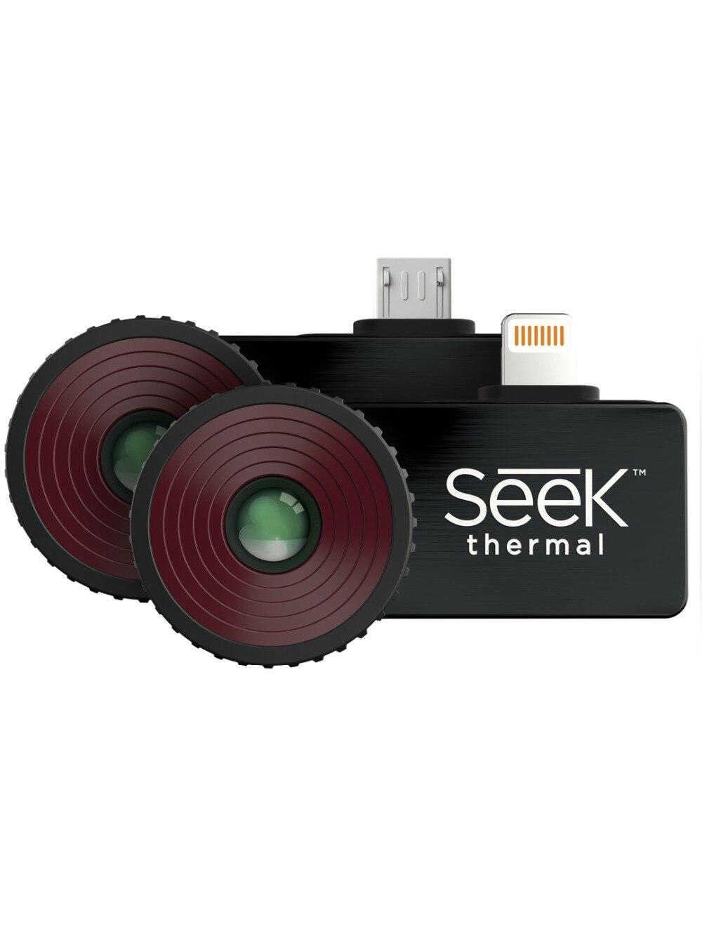 2018 vendite Calde Cercare Termocamera Compatto/Compact XR/Compact PRO di Imaging a raggi infrarossi di visione notturna Macchina Fotografica Android e IOS Versione