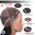 Pelo peruano de la Virgen Llena Del Cordón Pelucas de Pelo Humano Para Negro mujeres Grado 7A Yaki Recto Glueless Del Frente Del Cordón Del Pelo Humano pelucas