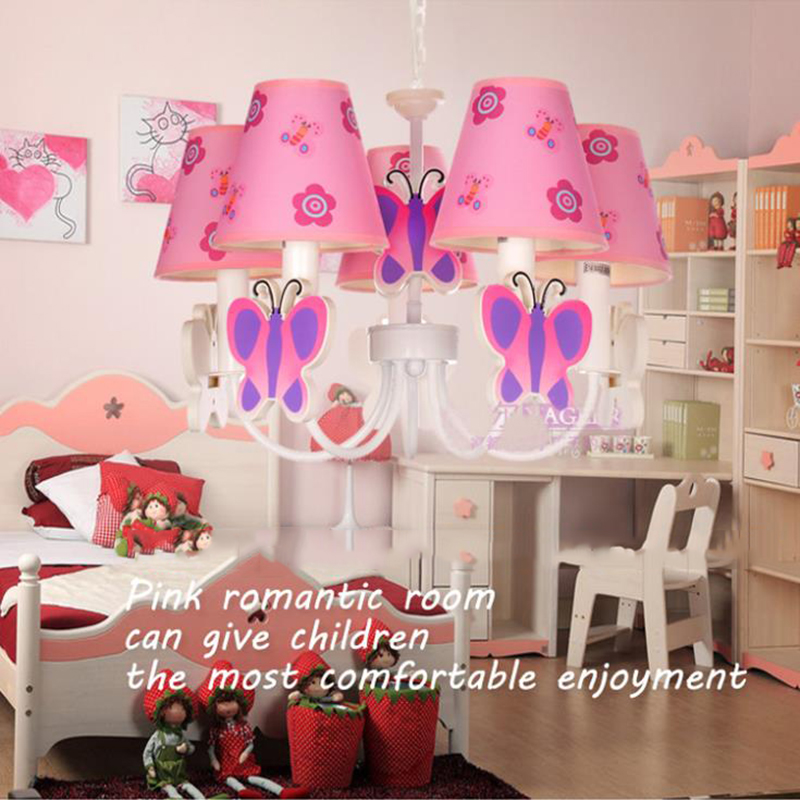 2017 New Modern Children S Bedroom Light Led Chandelier Lighting Fixtures Pink Hello Kitty Flush Mount 5 Source For Home In Chandeliers From Lights