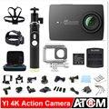Versão internacional! câmera ação ambarella originais xiaomi yi 4 k a9se xiaoyi 2 sports camera