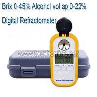 Цифровой рефрактометр для мёда для измерения содержания сахара TDR301