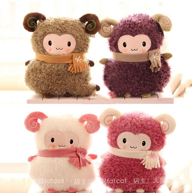 ФОТО Pernycess cute Little sheep lovely plush fat sheep dolls and hand warmer,60cm, Stuffed plush baby bed dolls,amazing gifts
