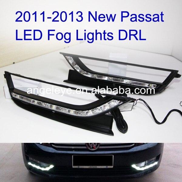 2011-2013 <font><b>Passat</b></font> <font><b>B7</b></font> светодиодные дневные Бег свет для противотуманных фар V1