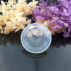 Image 5 - Kreatywne ciasto dokonywanie formy ciasto dekorowanie narzędzia diament kształt kryształ silikonowe formy DIY Handmade miłość biżuteria w kształcie serca narzędzia