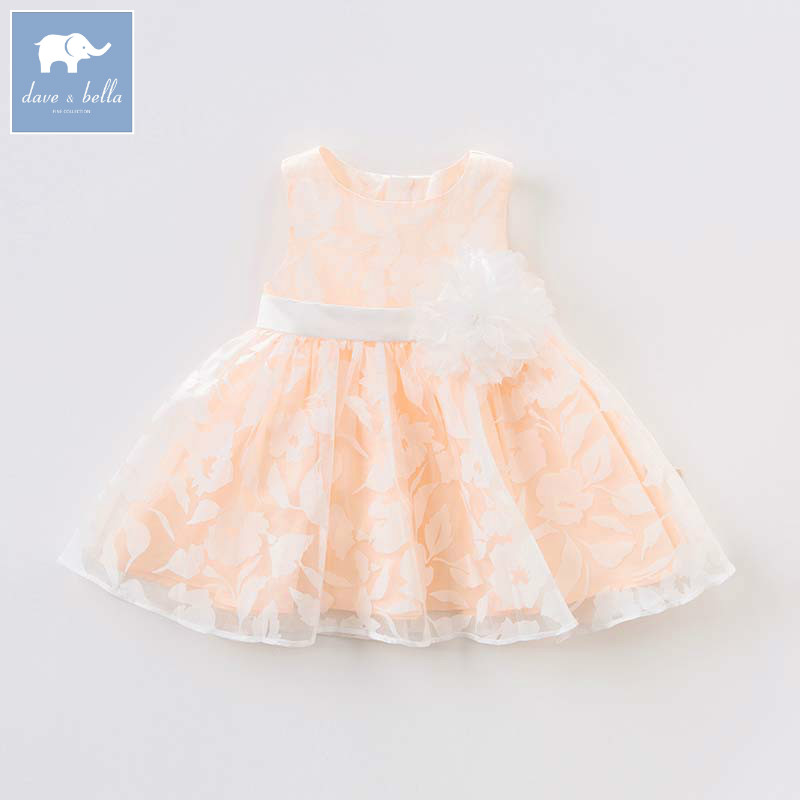 Dave bella Princess dresses for girls children birthday party appliques clothes wedding floral costumes baby gown DB7552Dave bella Princess dresses for girls children birthday party appliques clothes wedding floral costumes baby gown DB7552