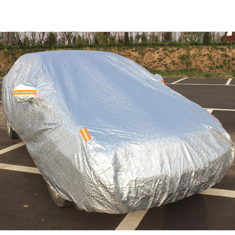 Waterproof Car Covers Outdoor Sun Protection Cover For Car Reflector