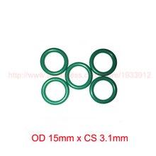 OD 15mm x CS 3.1mm viton fkm rubber sealing o ring oring o-ring