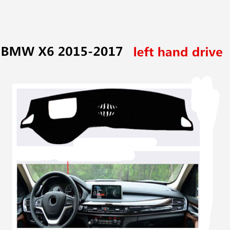 Auto Accessories Car Dashboard cover for BMW X6 2015 2017 left hand drive Light resistant mat-in