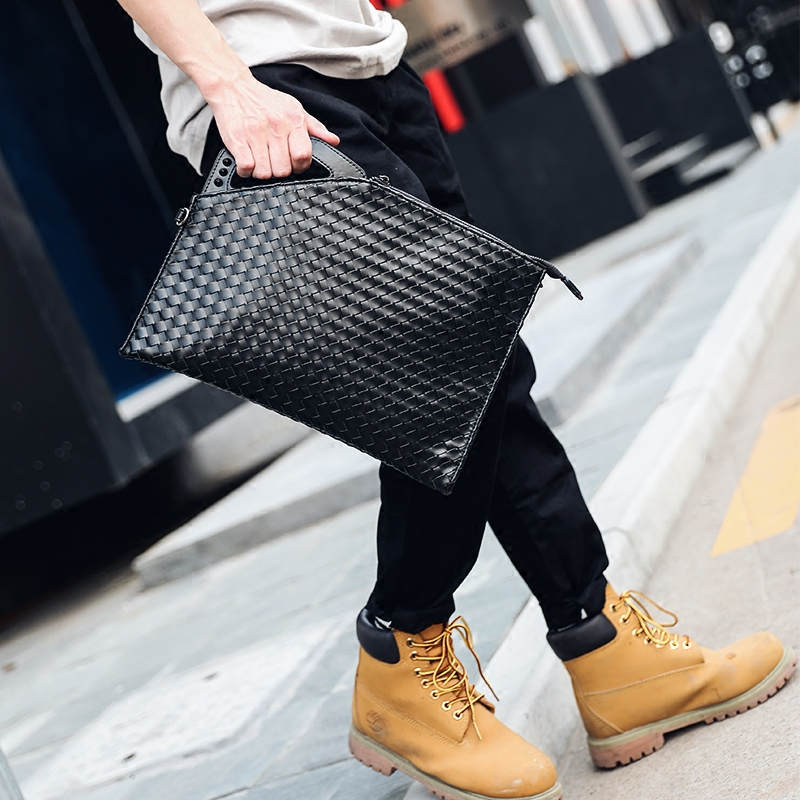2019 Men's Luxury Handbags Designer Envelope Clutch Bags Travel Shoulder Crossbody Bags Free Shipping