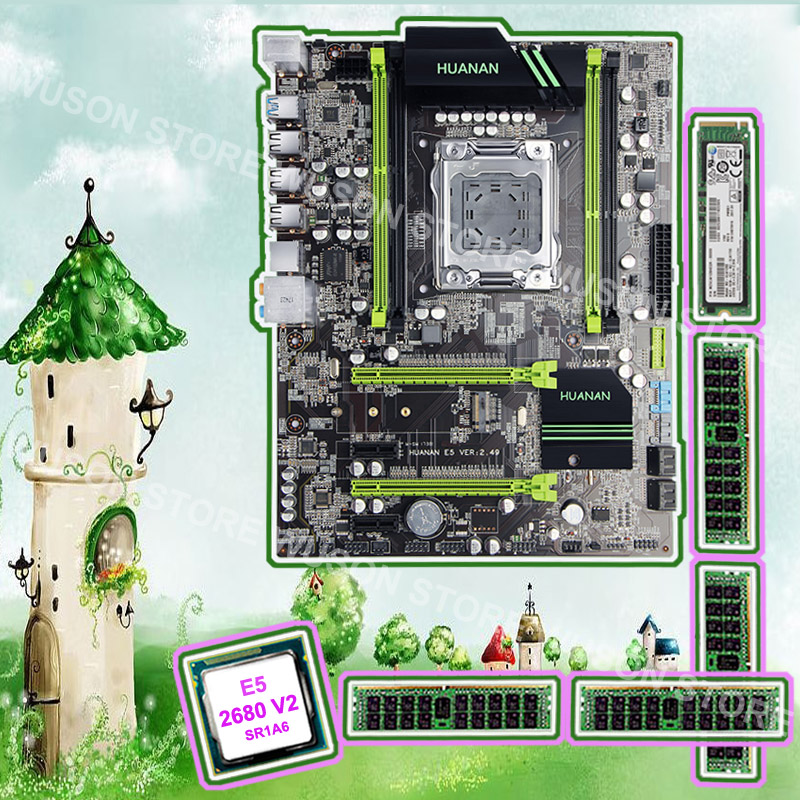 Good PC hardware HUANAN ZHI X79 motherboard with M.2 128G SSD discount motherboard with CPU Xeon E5 2680 V2 RAM 64G(4*16G) RECC good pc hardware huanan zhi x79 motherboard with m 2 128g ssd discount motherboard with cpu xeon e5 2680 v2 ram 64g 4 16g recc
