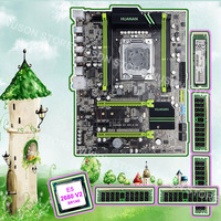Good PC hardware HUANAN ZHI X79 motherboard with M.2 128G SSD discount motherboard with CPU Xeon E5 2680 V2 RAM 64G(4*16G) RECC