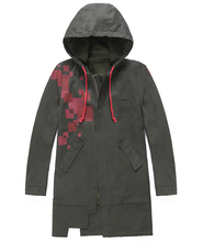 Chaqueta Super Danganronpa 2 Komaeda Nagito, abrigo de Color verde militar, ropa de disfraz de Cosplay, gabardina Cos