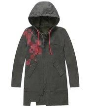 スーパー danganronpa 2 komaeda nagito ジャケットアーミーグリーン色コートコスプレ衣装衣類洋服 cos トレンチ