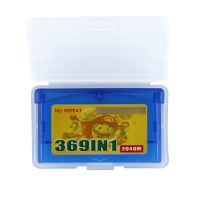 32 Bit Video Game Cartridge 369 in 1 Console Card US Version English Language Support Drop
