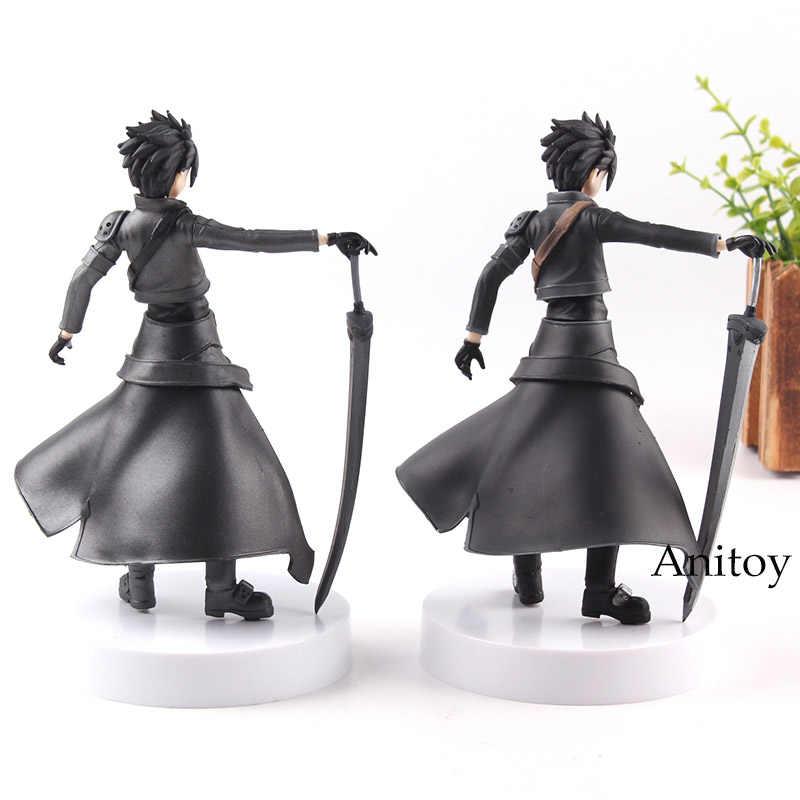 السيف الفن على الانترنت الرقم عمل الجنية الرقص Kirigaya Kazuto Kirito SAO PVC مجموعة نموذج اللعب 2 أنواع