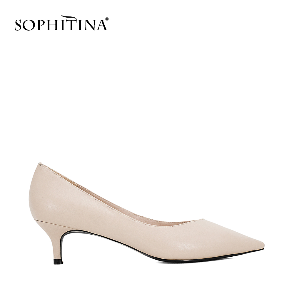 Sexy High Heels Pumps High Quality Kid Suede Pointed Toe Comfortable Shoes 1