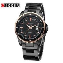 CURREN Marca relojes Hombres 30 M digital Resistente Al Agua de Hombres de negocios reloj Impermeable Relogio masculino