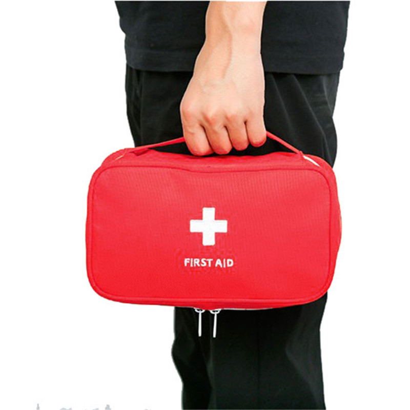 Portable Empty First Aid Bag Kit Pouch Home Medical Emergency Travel Rescue Case Bag Medical Package for outdoor safety