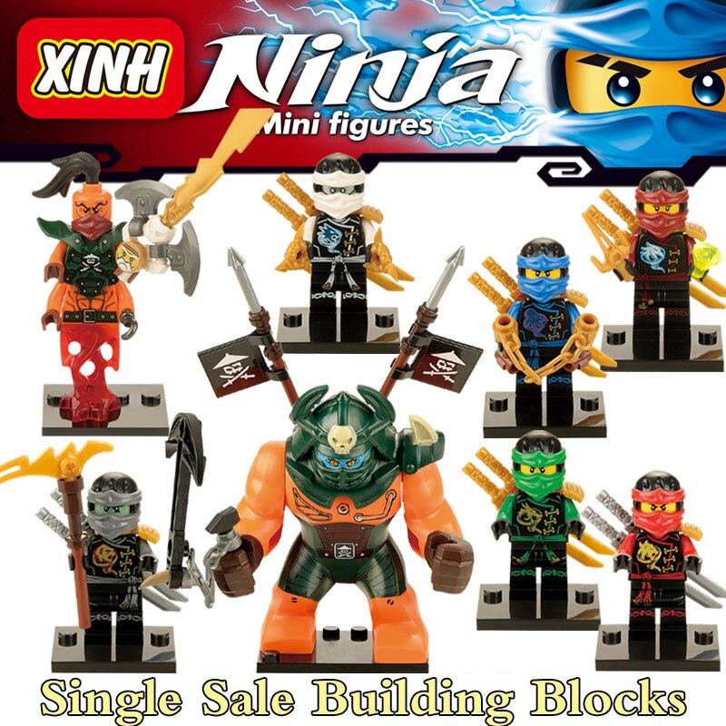 1PC Lloyd Curtis Kai Niya Nada Khan Jie Dogshank diy figures Superheroes Avengers Starwars Building Block Bricks Kids Toys nada barbara