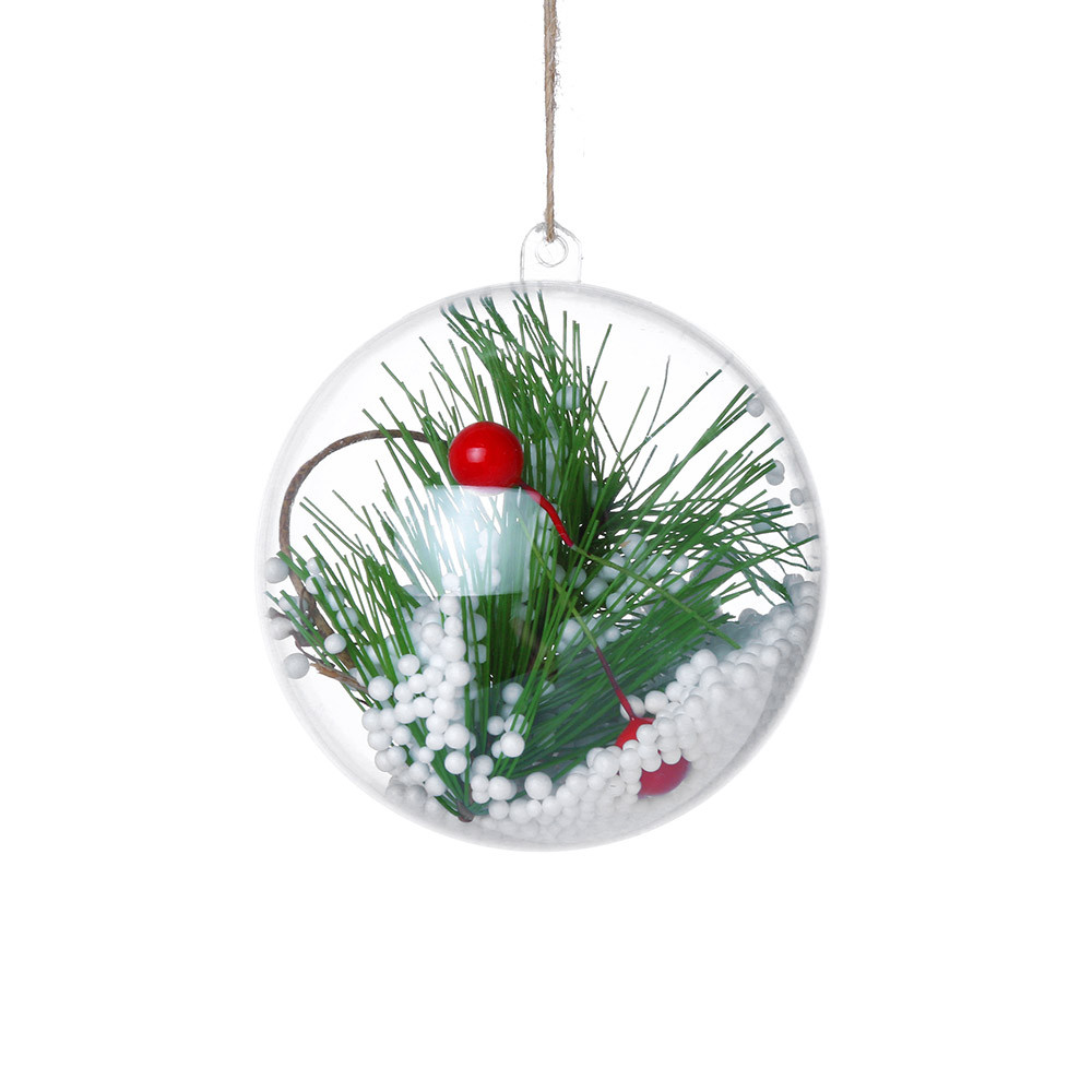 2018 New Christmas Tree Pendant Hanging Home Ornament Ball ...