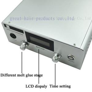 Image 4 - 1 PC US/EU/UK ปลั๊กล่าสุด Digital Ultrasonic Hair EXTENSION เครื่องตัวเชื่อมต่อเย็นเทคโนโลยีฟิวชั่น Keratin เครื่องมือ Salon