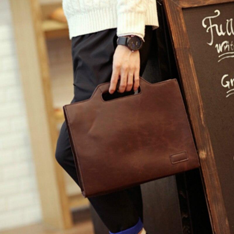 Tidog nouvelle pochette d'ordinateur sac à bandoulière hommes loisirs mallette d'affaires