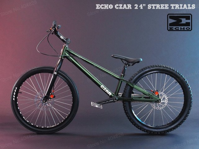 Buy Echo Czar 24 Stree Trials Bike High Quality