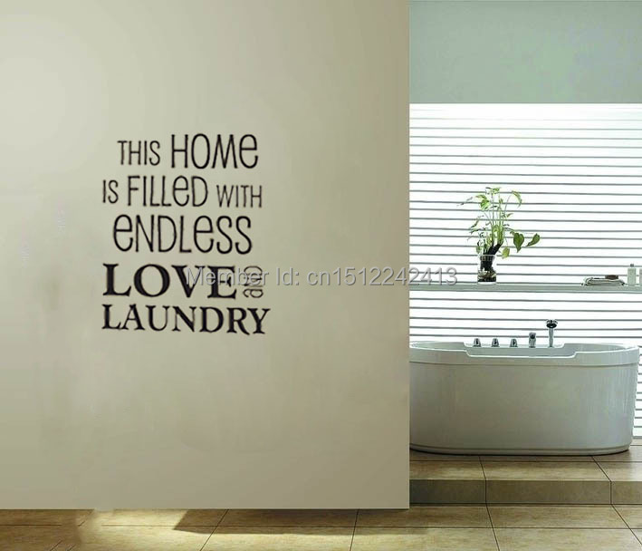 ... Wall Stickers Laundry Room This Home Is Filled With Endless And Laundry  Room Wall Decals ... Part 64