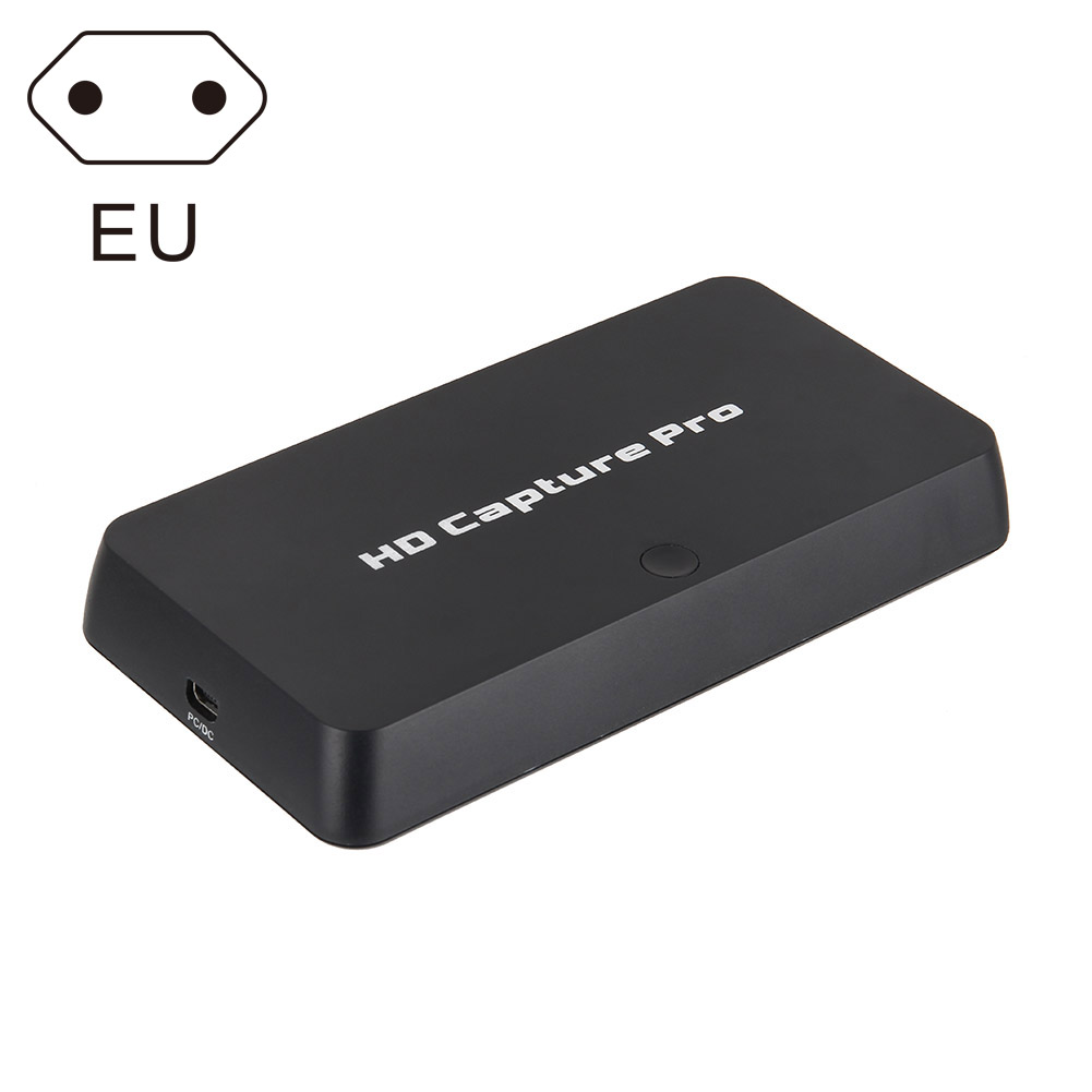 Video Recorder 1080P HDMI Game Capture Box TV Playback for Xbox 360 PS4 New LCC77 110 240v usb2 0 hdmi video game capture hd 1080p recorder playback card with remote control for xbox 360 one for ps4 eu plug