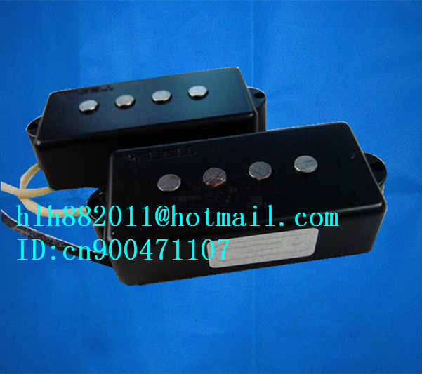 new 4 strings electric bass guitar pickup in black made in South Korea TE-8381 free shipping new electric guitar semi closed pickup in chrome made in south korea hy 07