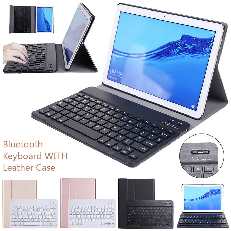 Bluetooth Keyboard Case For Huawei MediaPad T5 10 AGS2-W09/L09/L03/W19 Honor Pad 5 10.1 Tablet Leather Flip Case Keyboard CoverBluetooth Keyboard Case For Huawei MediaPad T5 10 AGS2-W09/L09/L03/W19 Honor Pad 5 10.1 Tablet Leather Flip Case Keyboard Cover