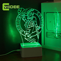CNHidee 3D Nightlight for NBA Teams USB Night Lights LED Touch Table LAMPS as Home Decor Baby Bedroom Lampara