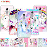 HAMEINUO Rainbow Lovely Unicorn Cover phone Case for Xiaomi redmi 5 4 1 1s 2 3 3s pro PLUS redmi note 4 4X 4A 5A