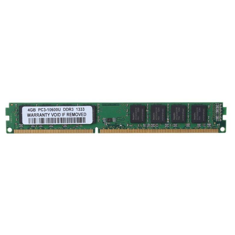 DDR3 4GB 1333MHz PC3-10600U 10600 240 PIN 2RX8 DIMM RAM Desktop Memory For All kingston ecc memory ram ddr3 4g 1333mhz cl9 240pin 1 5v pc3 10600u working on workstation and servers