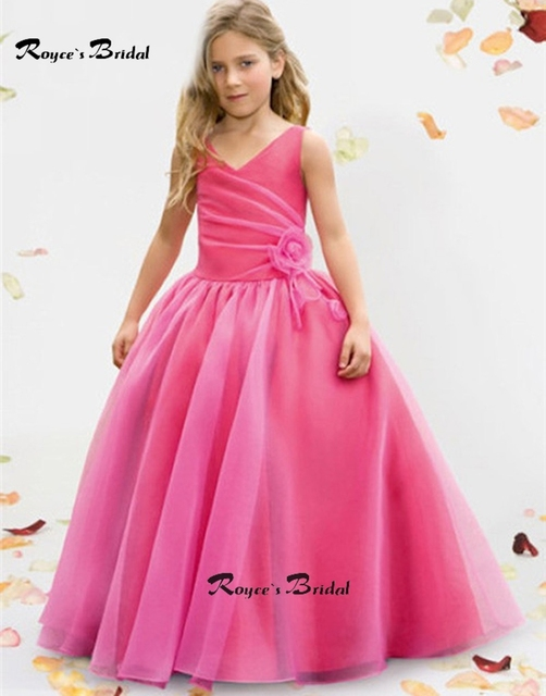 dress sleeveless fitted formal floor length pink russia