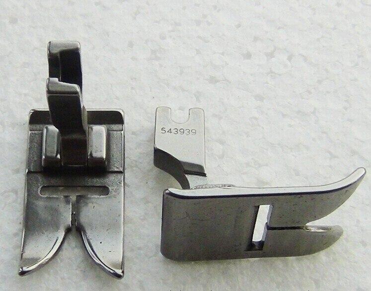 Industrial sewing machine parts presser foot 12MM 457 word bur bit presser foot Zigzag 543939