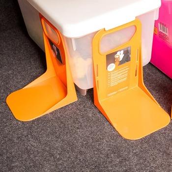 Wielofunkcyjny tylny bagażnik samochodowy stały uchwyt na półkę pojemnik na bagaże stojak odporny na wstrząsy Organizer uchwyt na schowki tanie i dobre opinie 19cm Tylny regały i akcesoria Fixed Rack Holder 100g 14cm 12cm