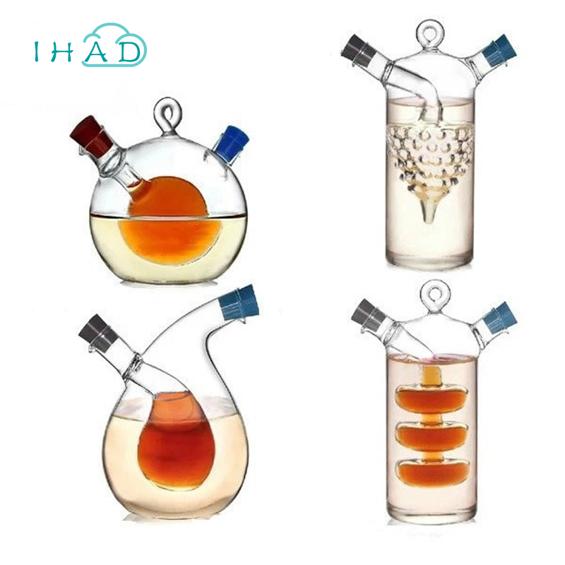 High temperature spice bottle Oil and vinegar galss bottle sauce glass jar sealed seasoning glass small