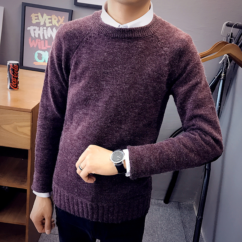 2017 New MenS Fashion Winter Coat Long-Sleeved Sweater MenS Jacket Casual Sweater High Collar Men Sweater M-3XL
