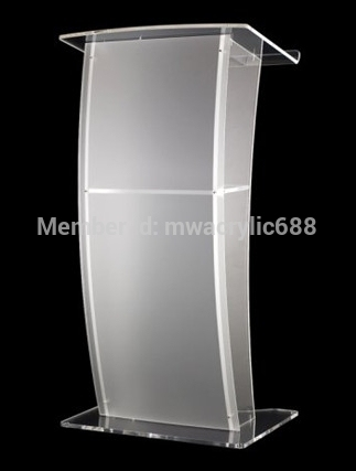pulpit furniture Free Shipping High Quality Price Reasonable CleanAcrylic Podium Pulpit Lectern acrylic podium