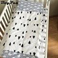 Ins wisstt nuevo caliente llegada cuna sábanas 3 unids baby bedding set incluye funda de almohada + hoja de cama funda nórdica sin relleno